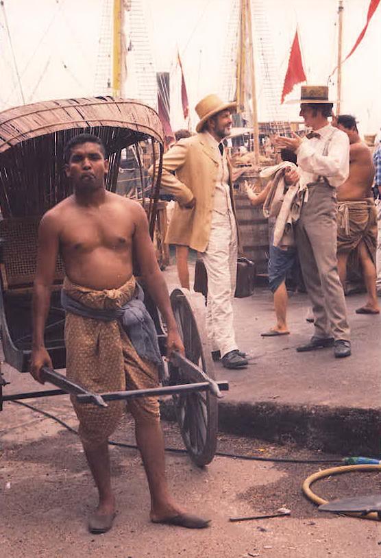 man powered taxi
