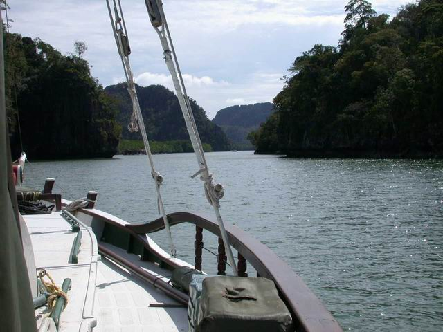 Langkawi Malaysia anchorage (hide out)