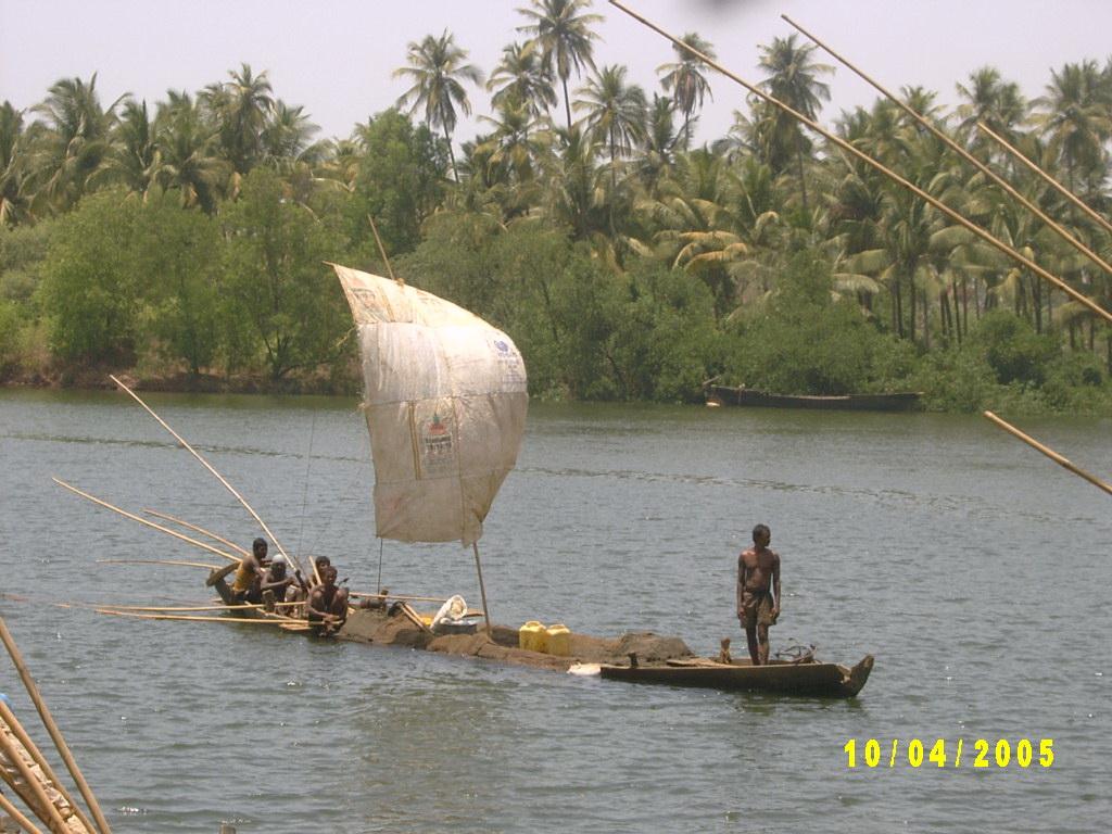 sand boat sailing