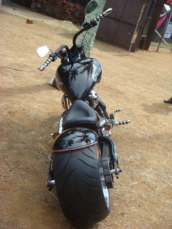 its rear wheel