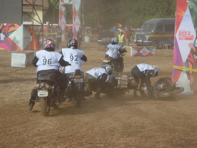 Sunday race - it happens ...