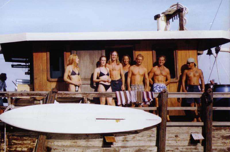 ANUSARA crew 1999