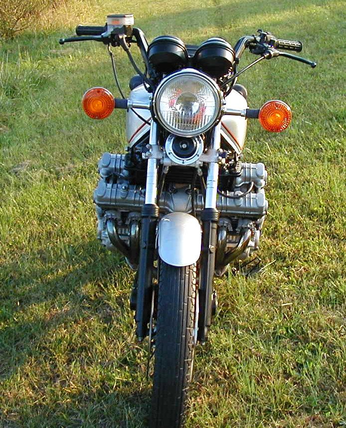Honda CBX front view