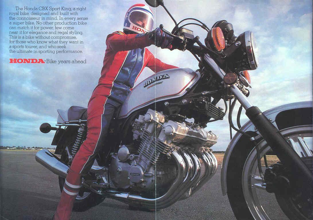 Honda CBX adv. 1978