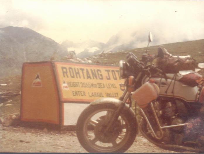 3955m above sea level, HP / India  1981
