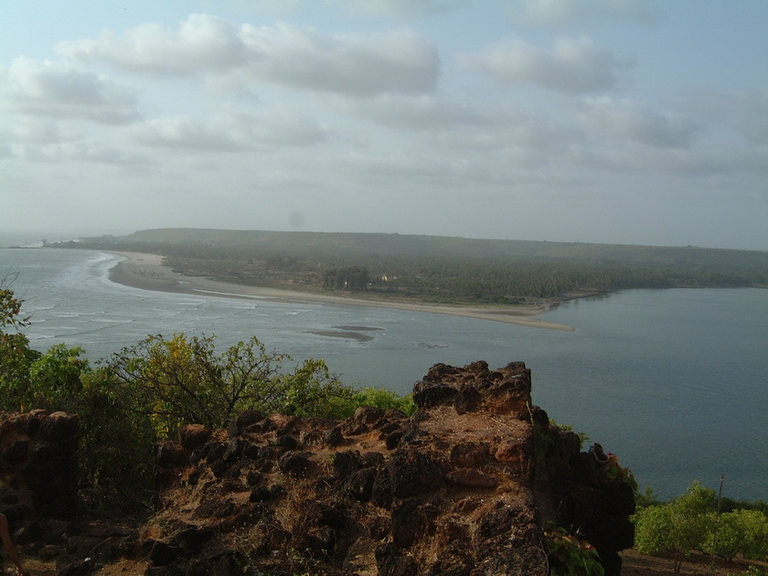 North view from Shapora Fort