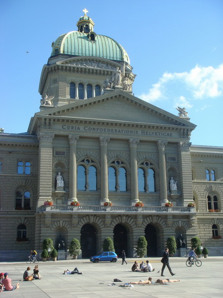 Swiss Parliament, Capital City Bern